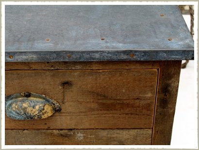 small quirky coffee table handle& top