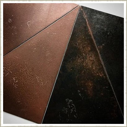 copper tile table samples