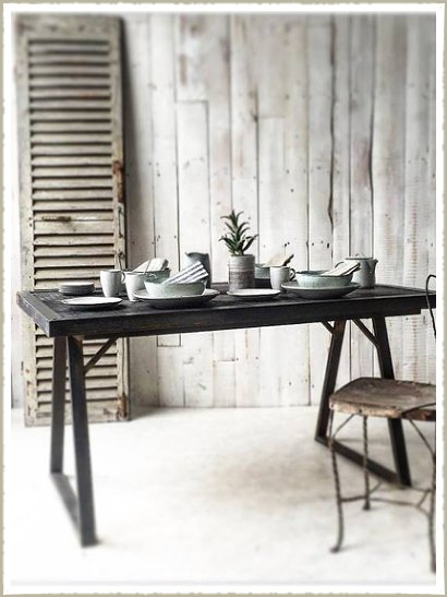 industrial trestle table