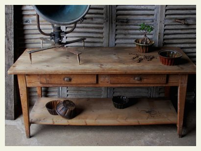 country house work table top