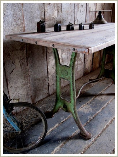 green base table end