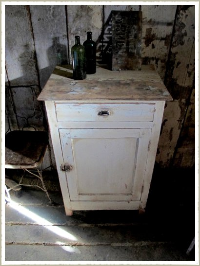 painted cabinet top