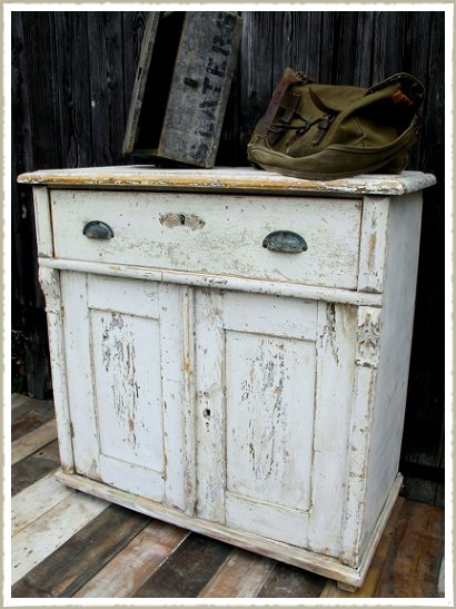 small painted cupboard 1