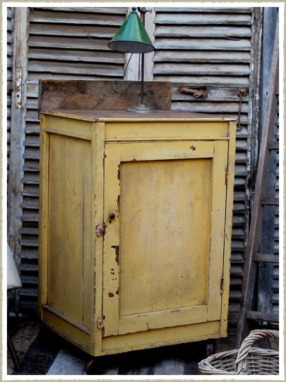 Vintage Irish kitchen cabinet
