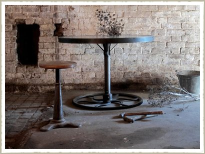 industrial cog base table