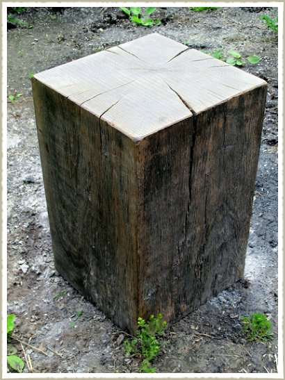 oak block stoo 1l