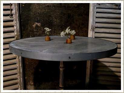 round bistro table top