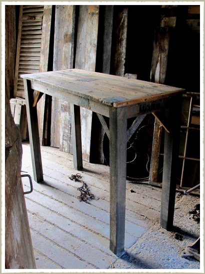 Vintage Pine Poseur 'Pub' Tables