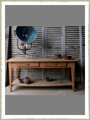 country house work table main