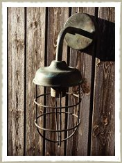 brass wall cage lamp (2)